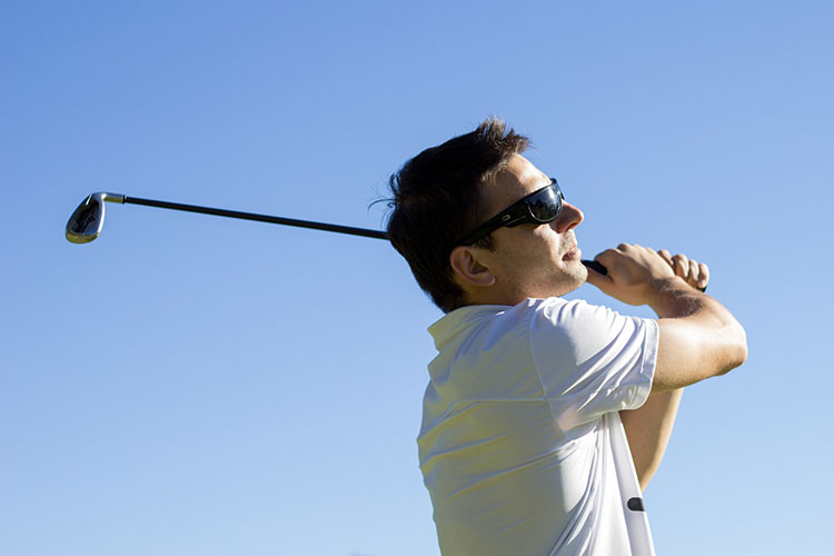 ゴルフ肘について
