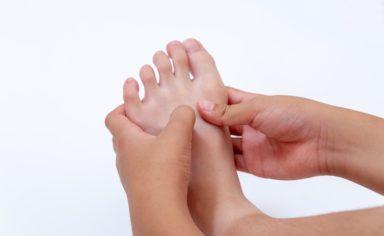 踵骨骨端炎について