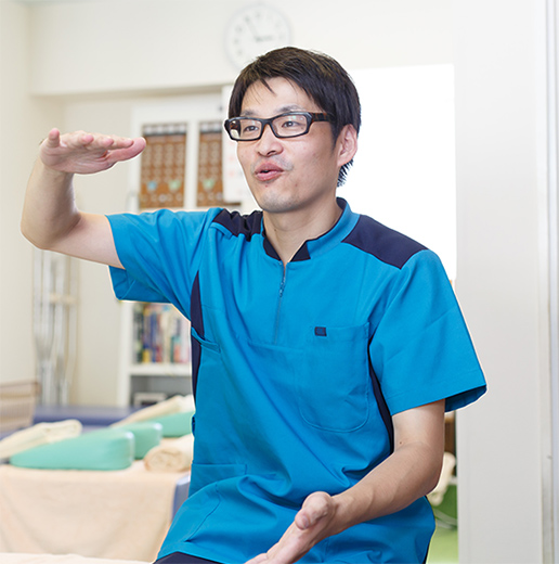 多くの患者さんと信頼関係が築け、それが成長に繋がりました。